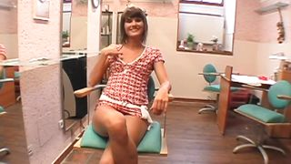 Bitch Spreads Her Legs And Ass For Money