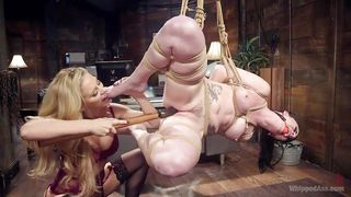 Giving It To A Slave Hard With A Huge Pole