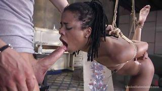 Tough Punishment For My Ebony Wife