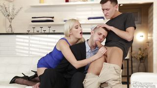 He Solved All Problems With A Blowjob  Bi Office #02