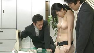 All Japanese Pass-Humiliated By Her Coworkers At The Office PornZek.Com