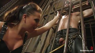 Man Caged And Tortured By A Mistress