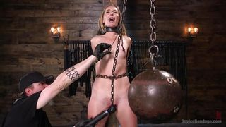 Mona's Pussy Is Punished In The Bdsm Dungeon