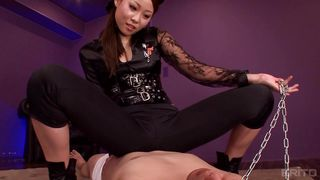 Asian Beauty Dominates Her Lover