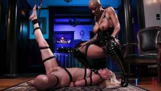 Busty Ebony Will Punish And Fuck Her Submissive Sex Slave
