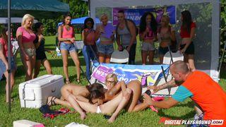 Naked Under The Sun  Catfight On Campus