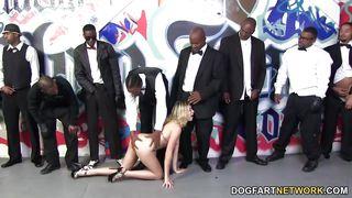Dogfart Network-Lia Lor Sucks 10 Black Cocks PornZek.Com