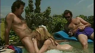 Classics Of Porn-Blonde Tabitha Pleases Two Men With Her Mouth! PornZek.Com