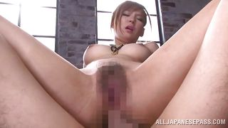 Sexy Babe Yuu Takes It In The Ass