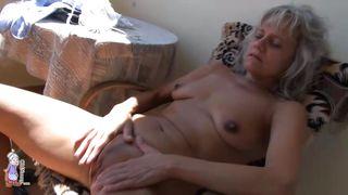 Old Nanny-Old Lady Stimulates Pussy To Orgasm PornZek.Com