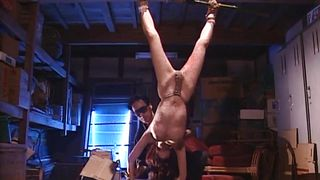 Japanese Slave Is Bound And Tortured With Hot Wax