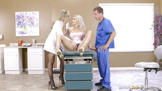 Sexy Blonde Patient Gets Seduced