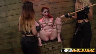 Sheena Gets Roughed Up By Her Two Dominants