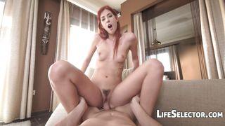 Life Selector-Slender Redhead Shona River Fucks Like A Pro PornZek.Com