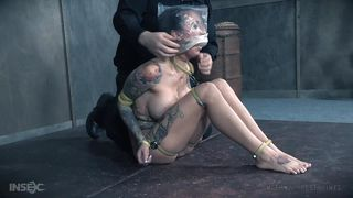 Gagged, Bagged And Stimulated By The Master