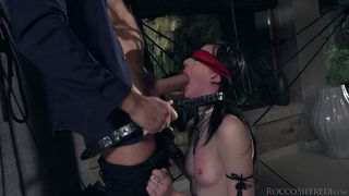 Fame Digital-Blindfolded Sub Chokes On Rocco's Fat Cock @ Rocco Sex Analyst PornZek.Com