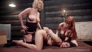 Mean Mistresses Take Advantage Of A Slave