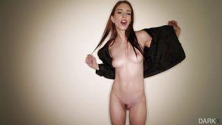 Skinny Babe Rides Big Black Cock