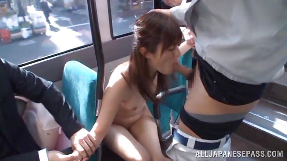 asia bus sex