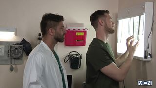Gay Doctor Prescribes His Cock Three Times A Day