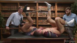 Jett And Jj Get Tied Up At The Office