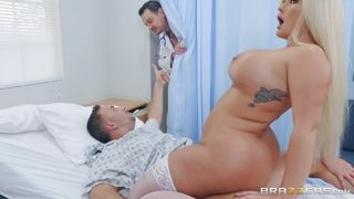 Busty Nurse Fucks With Her Patients