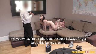 Fake Hub-She's Been Fucked By The Fake Agent PornZek.Com
