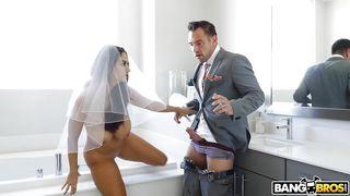 Brunette Milf Bride Is A Cheater