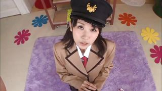 All Japanese Pass-Disciplined Nippon Brunette Kneels For Me PornZek.Com