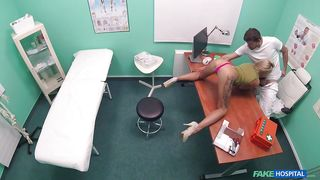 Blonde Katrin Seduces Her Doctor
