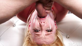 Myxxxpass-Throated Bitch Chokes On A Huge Penis PornZek.Com