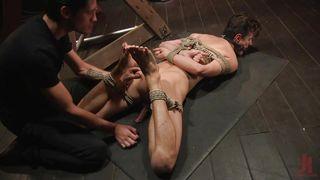 Puny Bound Sex Slave Gets Tortured