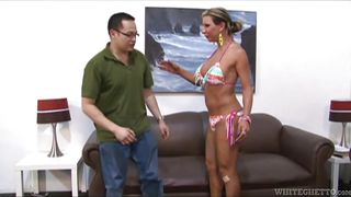 Tranny Housewife Teases Her Man  Transsexual Housewives #02