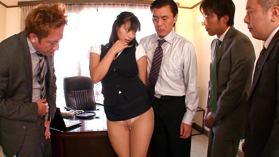 Asian office males banging