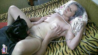 Old Nanny-Old Nanny Still Receives A Good Fuck PornZek.Com