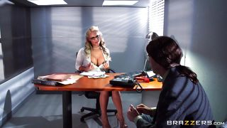 Phoenix Marie As A Sexy Receptionist