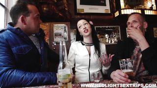 Naughty Larissa Leaves Pub With New Partner
