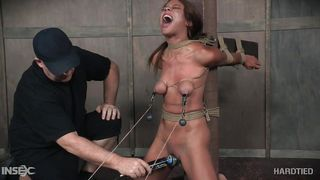 Verta Gets Tied Up And Punished Hard