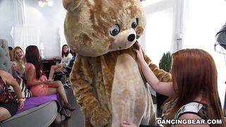 Under That Fluffy Bear Costume