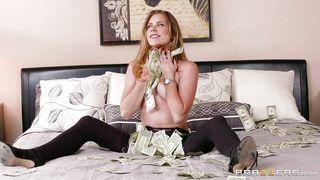 Hot Lesbians Fuck On A Pile Of Cash