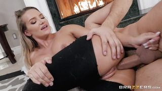 A Big Cock Deep In Her Anus