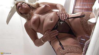 Mature Nl-European Mature Takes Off Her Panties PornZek.Com