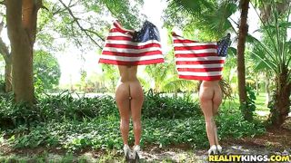 Curvy Bitches Party On The Fourth Of July
