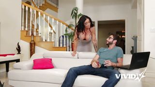Hot Milf Catches Her Stepson Jerking Off