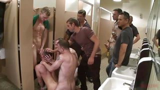Things Go Rough In The Boy's Bathroom