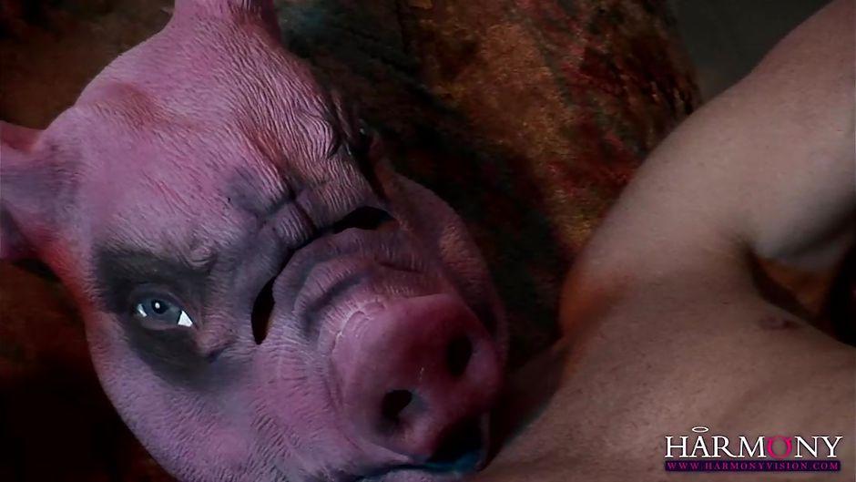 PETRA: Bdsm Pig Mask
