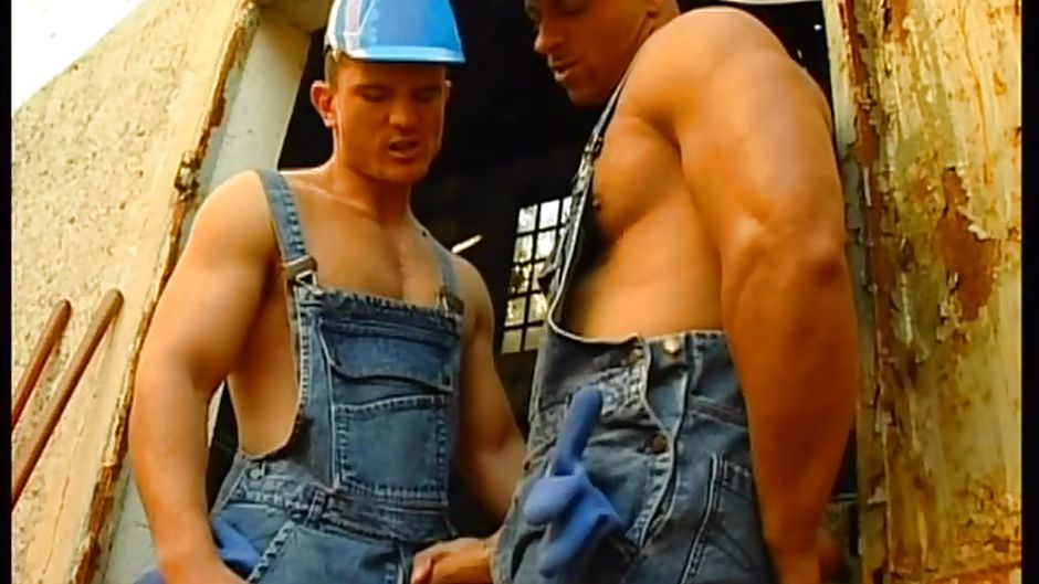 Construction worker gay sex