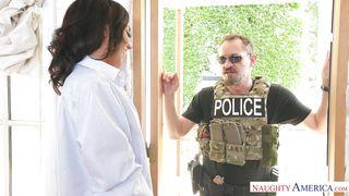 Horny Amara Seduces A Married Police Officer