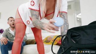 Sexy Nurse Knows How To Help