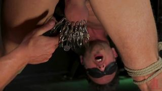 Terrible Cock Torture For Damon Heart